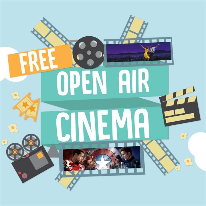 Free Open Air Cinema - La La Land and Captain America Civil War