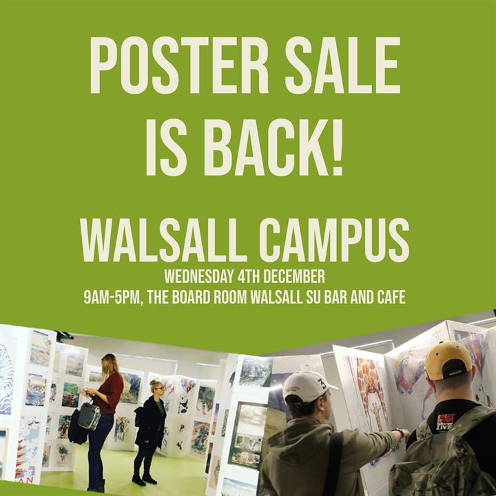 POSTER SALE - Walsall