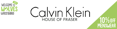 10% off Calvin Klein Menswear at House of Fraser