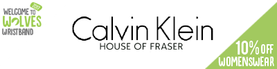 10% off Calvin Klein Womenswear at House of Fraser