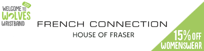 15% off French Connection Womenswear at House of Fraser
