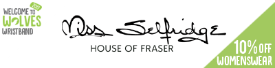 10% off Miss Selfridge Womenswear at House of Fraser