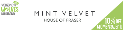 10% off Mini Velvet Womenswear at House of Fraser