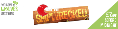 Cool It - £2 off Entry to Shipwrecked before Midnight