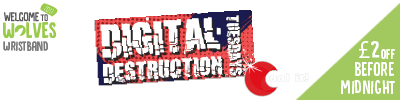 Cool It - £2 off Digital Destruction Entry before Midnight