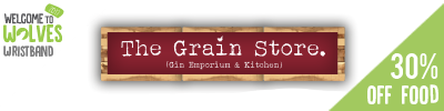 30% off Food at the Grainstore