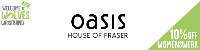 10% off Oasis Womenswear at House of Fraser
