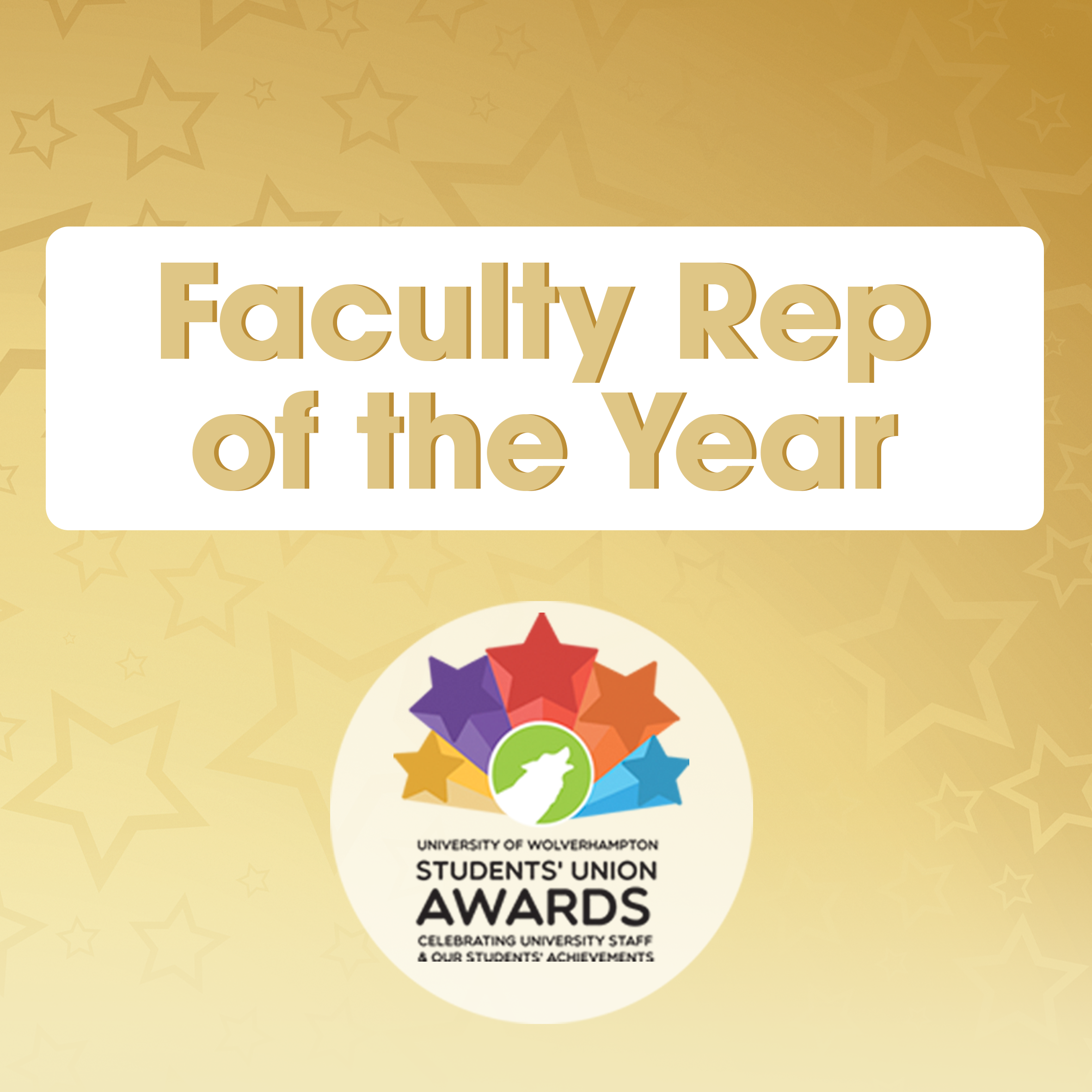 Faculty Rep of the Year