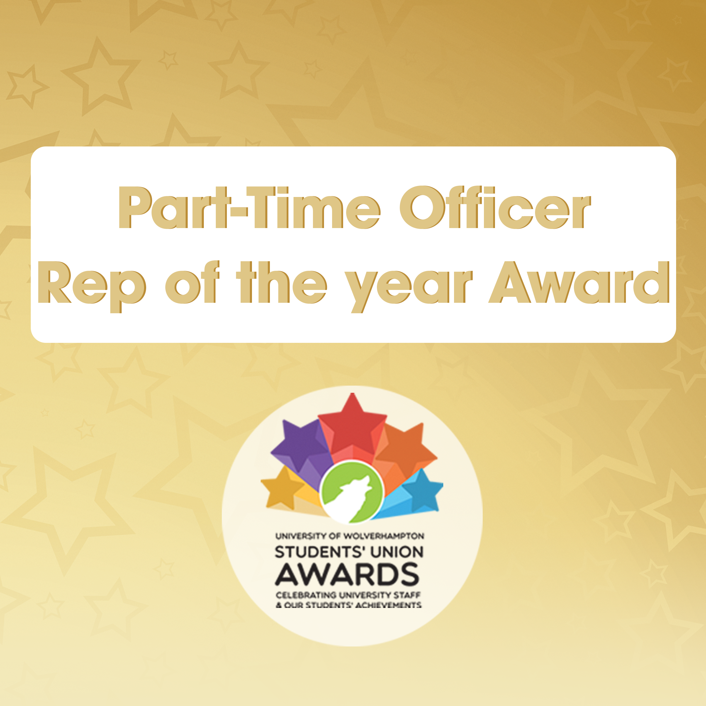 Part-Time Officer/Rep of the Year