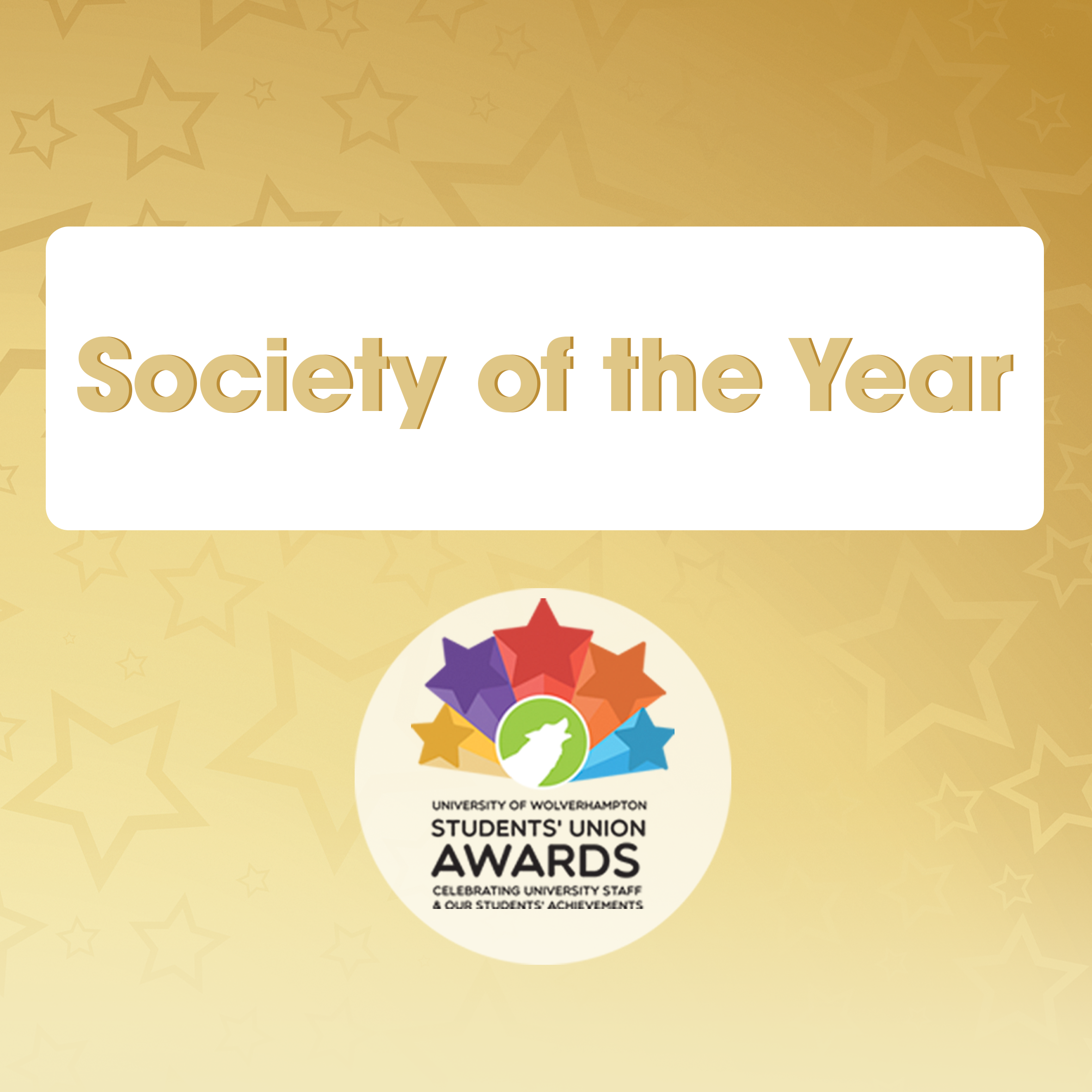 Society of the Year