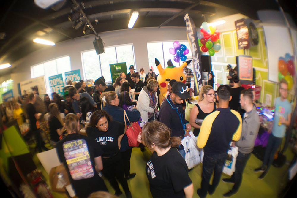 2016's Freshers Fayre stands
